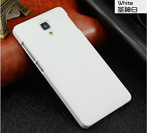 Mi 4 Case, GETLAST [White] High Quality Plastic Case Hard Protecting Cover Strong Armor for Xiaomi Mi 4