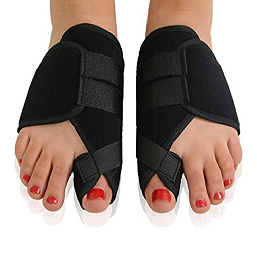 Asdomo Bunion Splints, 2pcs Soft Bunion Corrector Toe Separator Splint Correction System Medical Device Hallux Valgus Foot Care Pedicure (Orthotic System)