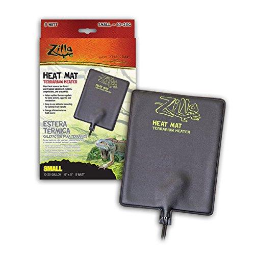 Zil Heat Mat Sm 10-20g 8w 6x8 by Central Garden & Pet - Aquatic