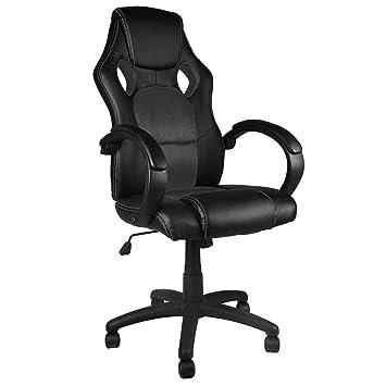 BAKAJI Silla Deportiva sillón direccional de Oficina 4 ...