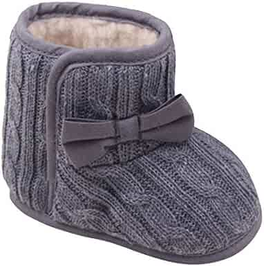 311f1f5eed4d9 Infant Toddler Baby Girl Boy Winter Warm Shoes Snow Boots 3-12 Months  Cuekondy Cute