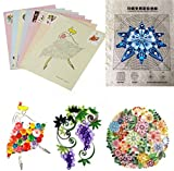 HITSAN 18PCS DIY Release Drawing Locating Paper Quilling Tool Craft Paper Art Collection Set One Piece