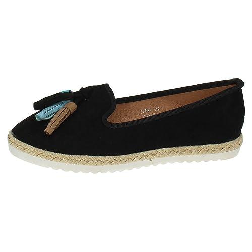 ZAPATOP FF029 Alpargatas DE BORLAS Mujer Alpargatas: Amazon.es: Zapatos y complementos