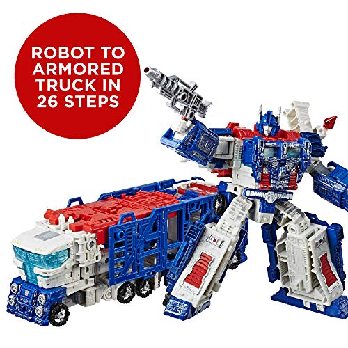 Transformers Generations War for Cybertron: Siege Leader Class WFC-S13 Ultra Magnus Action Figure