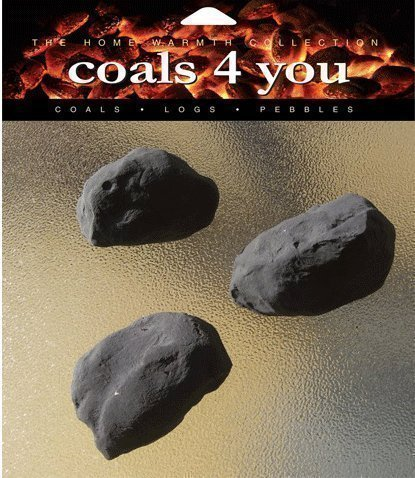 20 Gas Fire Ceramic Large Cast Coals Replacement Replacements/Bio...