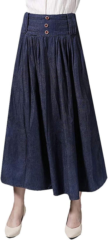 E-Girl - Falda - Plisado - para Mujer Azul 40 ES/M: Amazon.es: Ropa ...