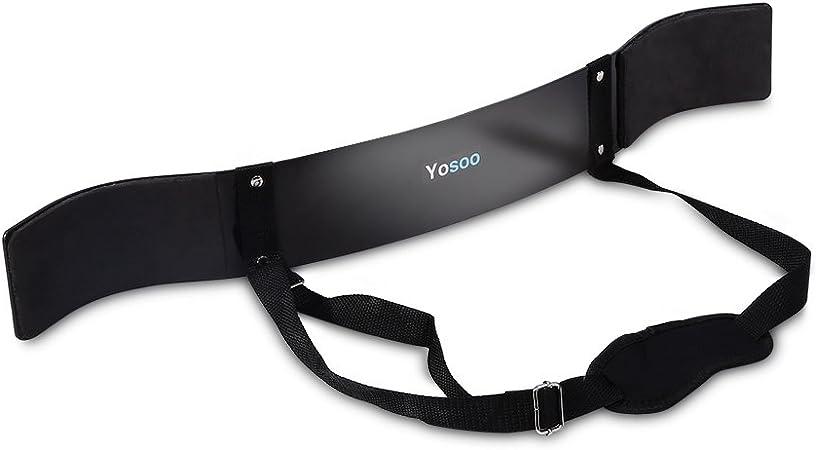 YOSOO Heavy Duty Arm Isolator Blaster Body Building Bomber Bicep Curl Triceps K