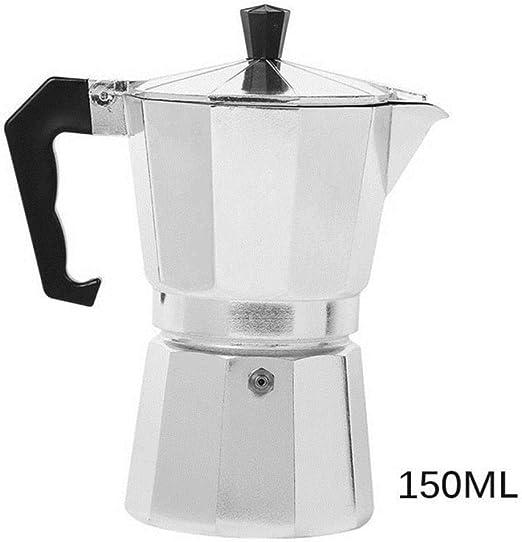 KOIYOI Cafetera Italiana Espresso Latte Cafetera 1 Taza 3 Tazas 6 ...