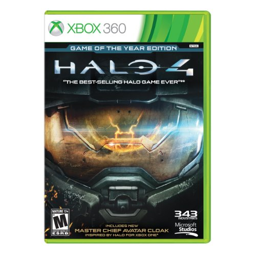 XBOX 360 Video Game-HALO 4