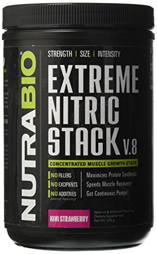 NutraBio Extreme Strawberry 527 1g 30 Servings