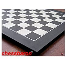 Chess Board made from Black Wengue and Maple 1.4 inch squares