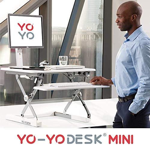 Yo-Yo DESK MINI (BLANCO) - Escritorio de pie ajustable en altura ...