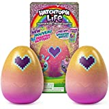 Hatchimals Hatchtopia Life 2-Pack, 2-inch Tall Plush with Interactive Game, for Ages 5 and Up (Styles May Vary)