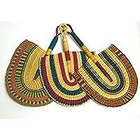 Fan: Burkina Faso Hand Wovenper One Utopia Africa Designs