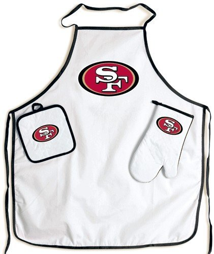 WinCraft San Francisco 49ers Grilling Apron Set