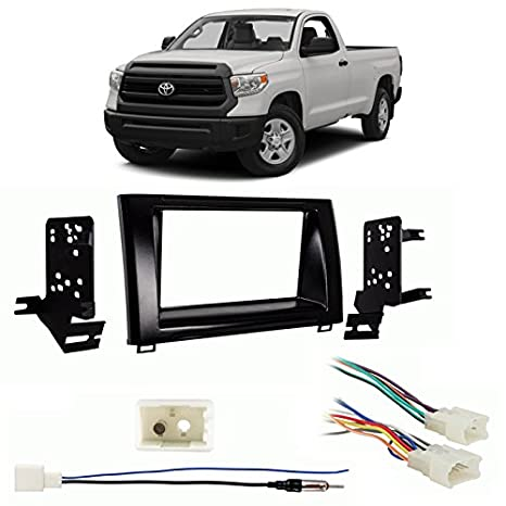 Amazon.com: Toyota Tundra 14-18 Double DIN Car Stereo Harness Radio on toyota tundra special tools, toyota tundra electrical diagram, toyota tundra front coil springs, toyota tundra sliding door, toyota tundra hitch ball, toyota tundra fusible link, toyota tundra sensors, 2007 toyota wiring harness, toyota tundra dash switch, toyota tundra double din stereo, toyota tundra control knobs, toyota tundra trailer wiring, toyota wiring harness diagram, toyota tundra headlamp, toyota tundra towing a trailer, toyota corolla wiring harness, toyota tundra u joint, toyota tundra driveshaft, toyota tundra washer nozzle, toyota tundra toggle switch,