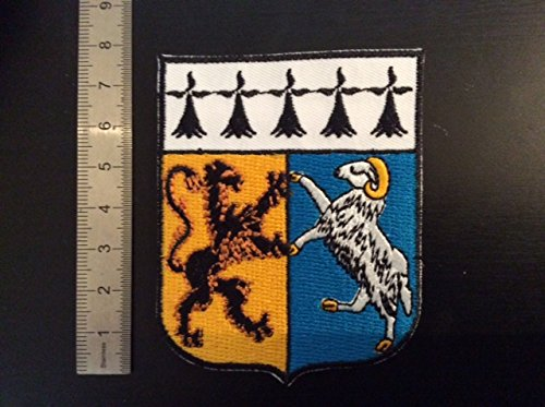 ECUSSON PATCHES AUFNAHER TOPPA THERMOCOLLANT BLASON DEPARTEMENT 29 FINISTERE
