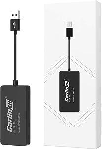 2021 Wireless CarPlay Adapter U2W CarlinKit 2.0 Wireless CarPlay Dongle for Audi/Volkswagen/Volvo Cars with Original Factory CarPlay, Supports iOS 14, Online Upgrade