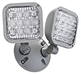 Lithonia Lighting ELA LED T WP M12 LED Emergency Remote Double, weather-proof remote Lamp Head