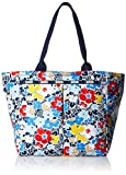 LeSportsac Everygirl Tote Handbag, Ocean Blooms Navy, One Size