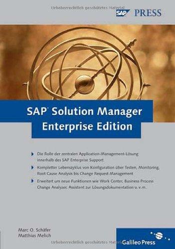SAP Solution Manager Enterprise Edition (SAP PRESS)