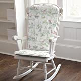 Carousel Designs Pink Over the Moon Toile Rocking Chair Pad