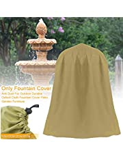 BEYST Fountain Cover, Garden Fountain Cover Oxford Waterproof Dustproof Cover with Drawstring for Winter Outdoor Garden Furniture