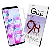 Galaxy S8 Plus Screen Protector,Galaxy S8 Plus Tempered Glass Clear ,Samsung S8 Plus Glass Sreen Protector,Candywe No Bubble Not Full Coverage Screen Protector for Samsung S8 Plus