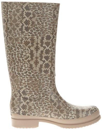 Print sand Dune Wellie graphite Crocs Femme Leopard Multicolore Bottes Boot W Ez44qvRW