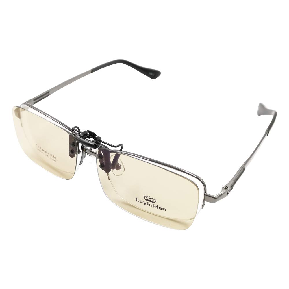 PERFECTSIGHT Clip on Blue Light Blocking Glasses for Computer Tablet Mobile TV Screen - 70% Anti Blue Ray/UVFilter/Eye Strain/Reflective/Glare Lightweigh Eyeglasses Eyewear Unisex for Women Men
