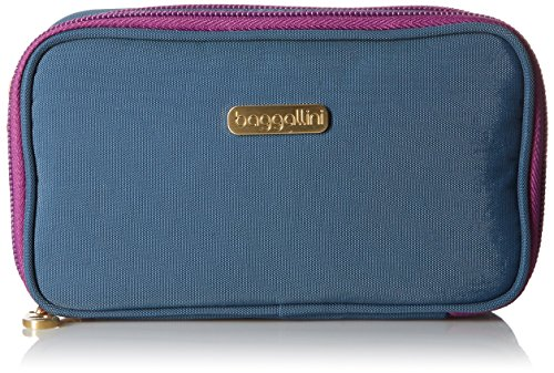 Baggallini Vienna Case, Slate Blue (Slate Handbags Fabric)