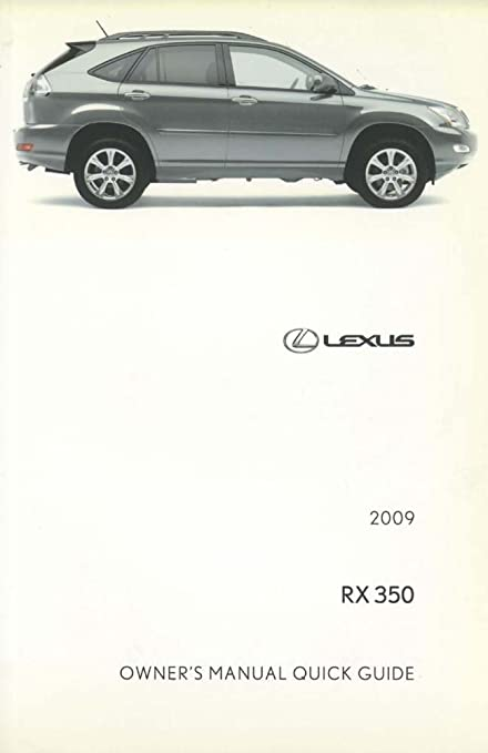 2009 lexus 350 manual