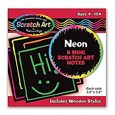 Melissa & Doug Neon Mini Scratch Notes: Toys & Games