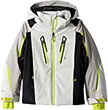 Obermeyer Kids  Boy's Mach 8 Jacket (Little Kids/Big Kids) Fog Small