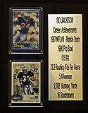 "8""X10"" Bo Jackson Oakland Raiders Career Stat Plaque"