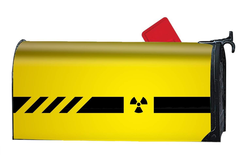 jiajufushi Nuclear Power 21 x 9inches Standard Size Mailbox Cover by jiajufushi (Image #1)