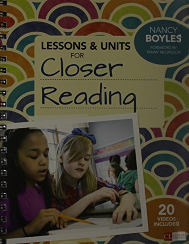 Bundle  Closer Reading  Grades 3 6   Lessons And Units For Closer Reading