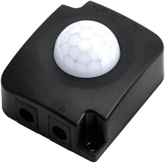 PENG DC Automatique 12 V 24 V 10 A Infrarouge Corps PIR d/étecteur de Mouvement capteur Interrupteur