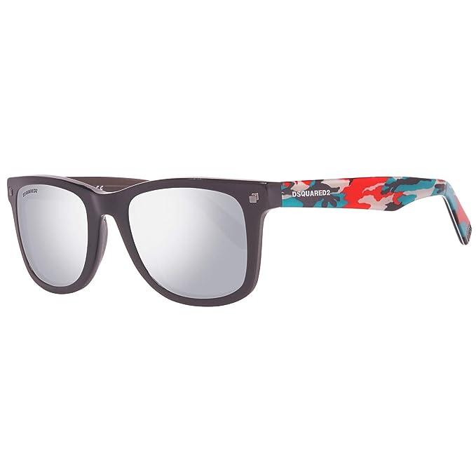 Dsquared2 Sonnenbrille DQ0171 01C 52 Gafas de sol, Negro ...