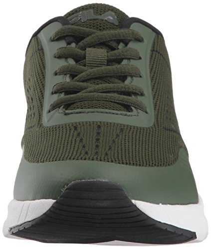 Fila Women's Memory Chelsea Knit Running Shoe Chive/Chive/White shopping online cheap online cheap sale latest outlet authentic cheap best place 7Bf5l