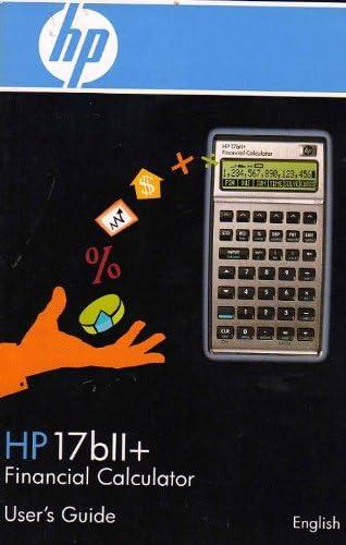 Office HP 17bII Financial Calculator Office Equipment