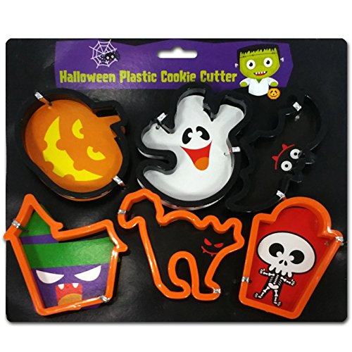 Fright Night Halloween Cookie Cutters - 6 PIECE SET