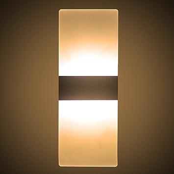interior sconce lighting. Huntingdoor LED Wall Light Lamp 6W Up Down Night Lights Indoor Sconce For Bedroom Interior Lighting N