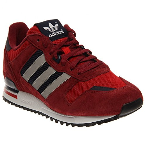 save off 834b8 c103c adidas Originals Men s ZX 700 Fashion Sneaker, Collegiate Burgundy Grey Scarlet,  10.5 M US - Buy Online in Oman.   Shoes Products in Oman - See Prices, ...
