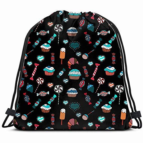 Watercolor Sweets Candies Candy Background Beauty Fashion Drawstring Backpack Gym Sack Lightweight Bag Water Resistant Gym Backpack For Women&Men For Sports,Travelling,Hiking,Camping,Shopping Yoga]()