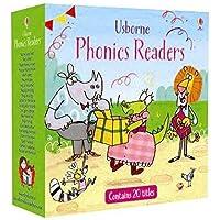 Usborne Phonics Readers 20 Books box Set Paperback
