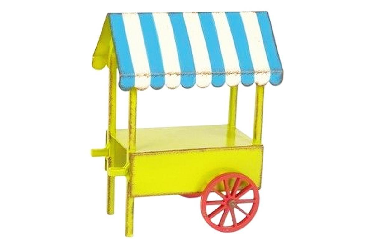 Mini Dollhouse FAIRY GARDEN Accessories - Mini Vendor Cart - My Garden Miniatures