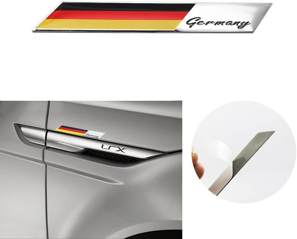 2 x RS FRONT GRILL /& TRUCK BOOT STICKER BADGES BLACK FITS MOST Free Delivery
