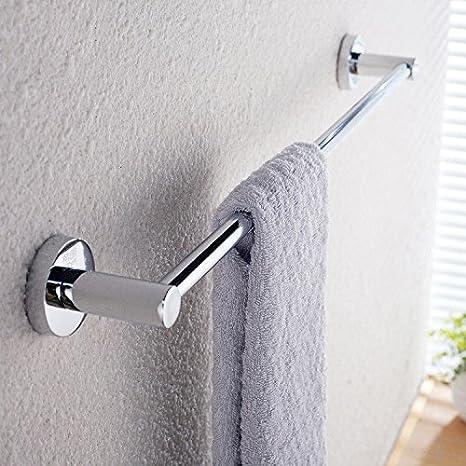 perforada de acero inoxidable bastidores de toallas aseo sola varilla colgando una toalla colgando varilla colgante los titulares de la barra de toalla de ...
