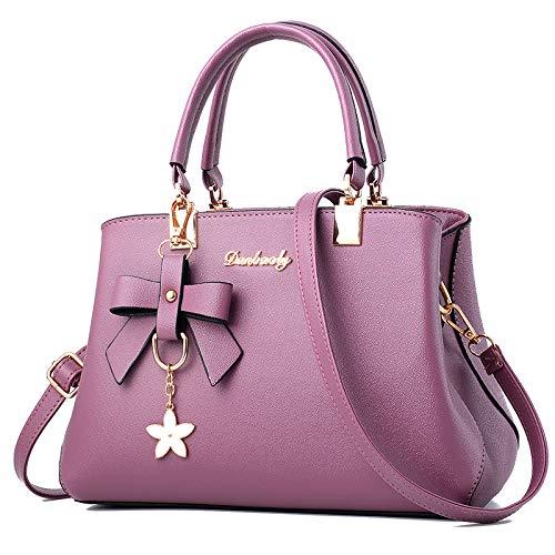 Messenger A Tracolla Purple Donna A Borse A Hobos Borse Pelle Borse Tracolla Moda Da Vintage Tracolla Vera Borse In UPtBqxwX1H